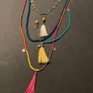 Premier Designs Aloha Necklace removable strands
